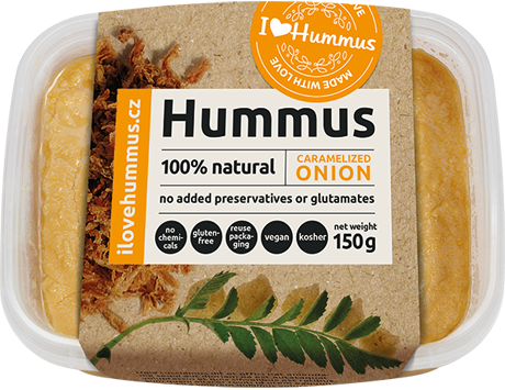 Hummus Caramelized onion
